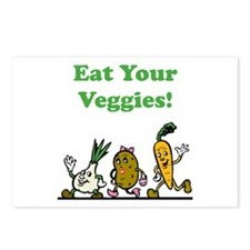 Eat Your Veggies! Postcards (Package of 8)