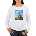 Where's My Chocolate? Easter Women's Long Sleeve T