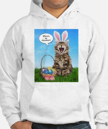 Where's My Chocolate? Easter Jumper Hoody