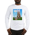 Where's My Chocolate? Easter Long Sleeve T-Shirt