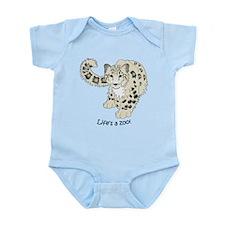 Snow Leopard Infant Bodysuit
