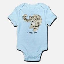 Snow Leopard Infant Bodysuit