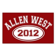 Allen West 2012 Decal