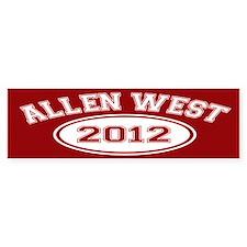 Allen West 2012 Bumper Bumper Sticker