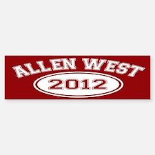 Allen West 2012 Sticker (Bumper)