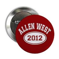 """Allen West 2012 2.25"""" Button (100 pack)"""