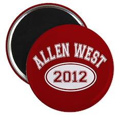 "Allen West 2012 2.25"" Magnet (100 pack)"