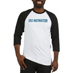 Sex Instructor Baseball Jersey