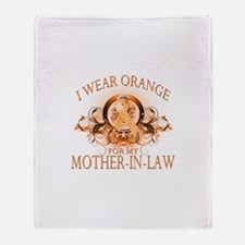 I Wear Orange for my Mother In Law (floral) Stadi