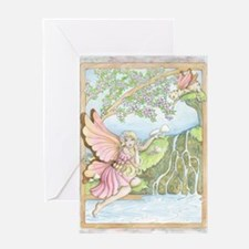 Arrival Of Spring Greeting Card