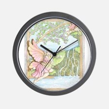 Arrival Of Spring Wall Clock