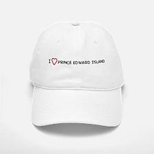 I Love Prince Edward Island Baseball Baseball Cap