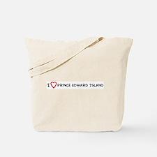 I Love Prince Edward Island Tote Bag