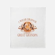 I Wear Orange for my Great Grandpa (floral) Stadi