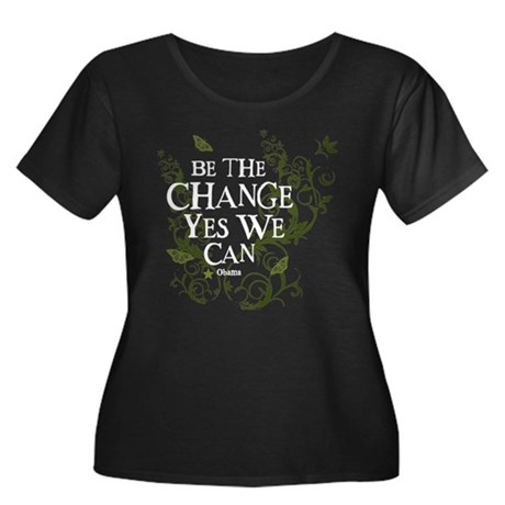 Obama Vine Change we Can Women's Plus Size Scoop N