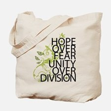 Obama Vine Half - Over Division Tote Bag