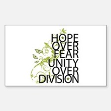 Obama Vine Half - Over Division Decal