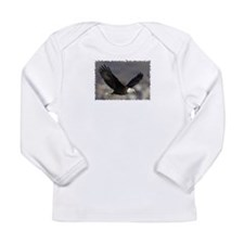 Flaps Down Long Sleeve Infant T-Shirt
