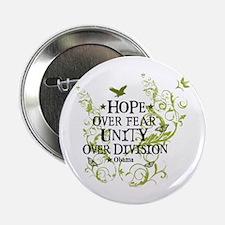 "Obama Vine - Hope over Division 2.25"" Button"