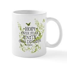 Obama Vine - Hope over Division Mug