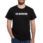 Sex Instructor Black T-Shirt