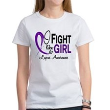 Fight Like A Girl Lupus Tee