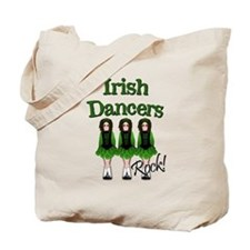 Irish Dancer's Rock Tote Bag