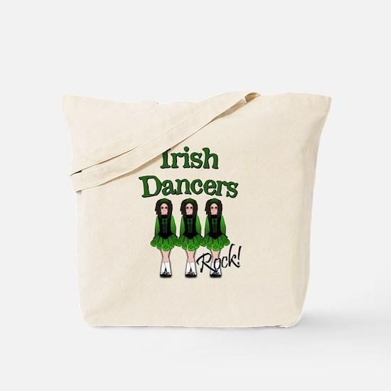 Irish Dancer's Rock Tote Bag