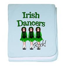Irish Dancer's Rock baby blanket