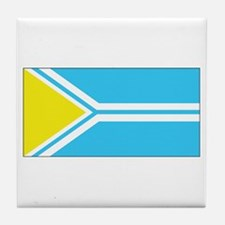 Tuva Flag Tile Coaster