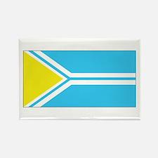 Tuva Flag Rectangle Magnet (100 pack)