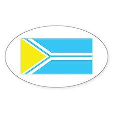 Tuva Flag Decal