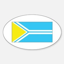 Tuva Flag Decal