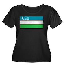 Uzbekistan Flag T