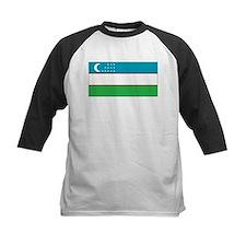 Uzbekistan Flag Tee