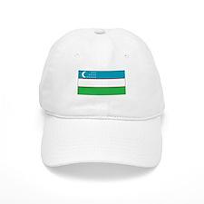 Uzbekistan Flag Baseball Cap