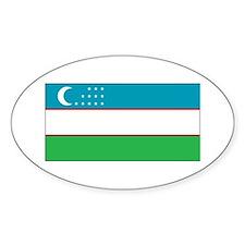 Uzbekistan Flag Decal