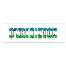 Uzbekistan Bumper Sticker