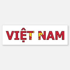 Vietnam Bumper Bumper Sticker