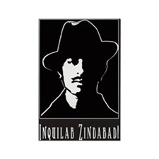 Bhagat Singh, Indian Freedom Rectangle Magnet