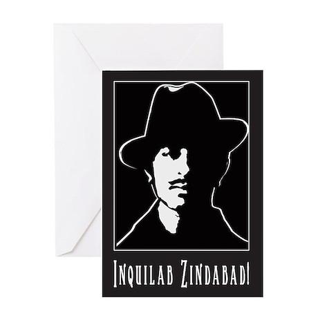 Bhagat Singh, Indian Freedom Greeting Card