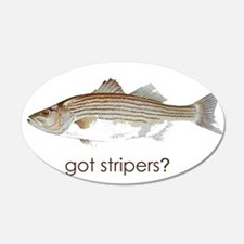 got stripers? 22x14 Oval Wall Peel