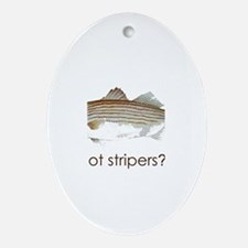 got stripers? Ornament (Oval)