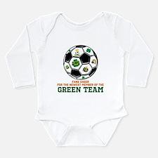 Irish Baby Green Team Long Sleeve Infant Bodysuit