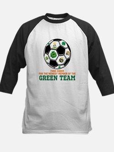 Irish Baby Green Team Kids Baseball Jersey