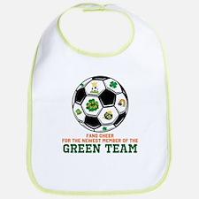Irish Baby Green Team Bib