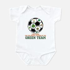 Irish Baby Green Team Infant Bodysuit