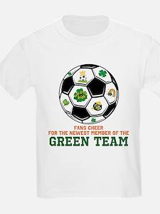 Irish Baby Green Team T-Shirt