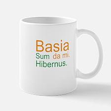 Kiss me. I'm Irish. (Latin; M Mug