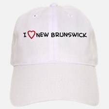I Love New Brunswick Baseball Baseball Cap